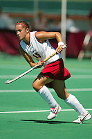 30 August 2005: Bailey Richardson during Stanford's 5-1 loss to Delaware at the Varsity Turf Field in Stanford, CA.