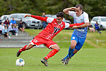 NELSON, NEW ZEALAND - NOVEMBER 10th: Tasman United v Waitakere United at Saxton Field, New Zealand. Saturday 10th November 2019. (Photos by Barry Whitnall/Shuttersport Limited)