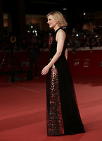 "L'attrice australiana Cate Blanchett posa sul red carpet per la presentazione del film ""The House With a Clock in Its Walls"" al Festival Internazionale del Film di Roma, 19 ottobre 2018.<br /> Australian actress Cate Blanchett poses on the red carpet of the movie ""The House With a Clock in Its Walls"" during the international Rome Film Festival at Rome's Auditorium, on October 19, 2018.<br /> UPDATE IMAGES PRESS/Isabella Bonotto"