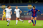 Spanish Women's Football League Iberdrola 2017/18 - Game: 9.<br /> FC Barcelona vs Madrid CFF: 7-0.<br /> Ona Batlle vs Vicky Losada.