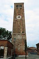 Venice:  Campanile,  Santa  Maria  e San  Donato.  Photo '83.