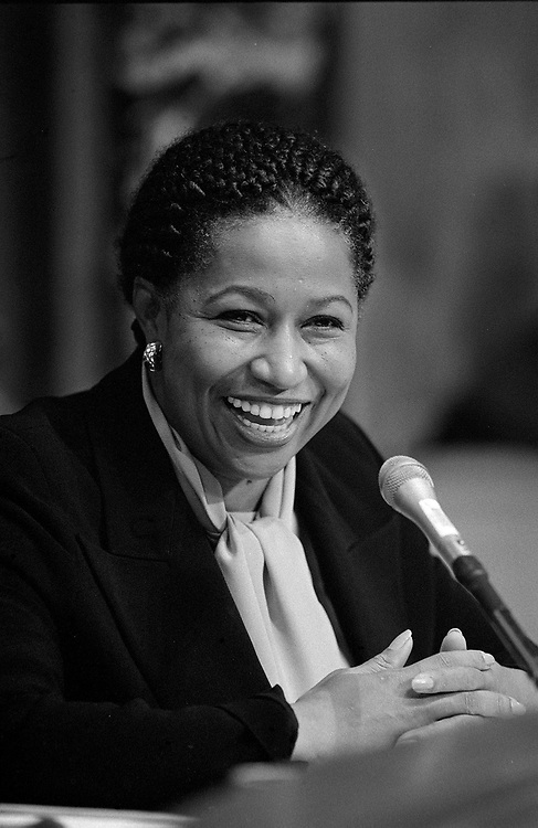 1996.Sen. Carol Moseley-Braun, D-Ill..CONGRESSIONAL QUARTERLY PHOTO BY SCOTT J. FERRELL