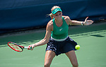 August 4,2018:  Donna Vekic (CRO) defeated Magda Linette (POL) 6-1, 7-6, at the CitiOpen being played at Rock Creek Park Tennis Center in Washington, DC, .  ©Leslie Billman/Tennisclix/CSM