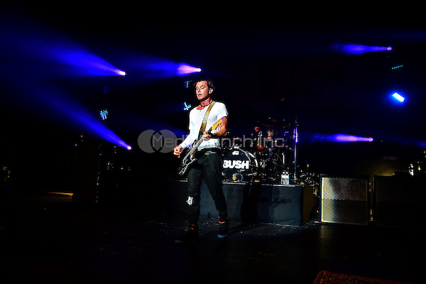 MIAMI BEACH, FL - APRIL 22: Gavin Rossdale of the  band BUSH performs onstage at Fillmore Miami Beach on April 22, 2016 in Miami Beach, Florida. Credit: MPI10 / MediaPunch