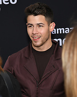 "02 June 2019 - Westwood Village, California - Nick Jonas. Amazon Prime Video ""Chasing Happiness"" Los Angeles Premiere held at the Regency Village Bruin Theatre. <br /> CAP/ADM/BB<br /> ©BB/ADM/Capital Pictures"