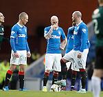 Rangers dejection after the second Raith goal