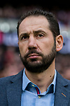 Coach Pablo Machin Diez of Girona FC prior to the La Liga 2017-18 match between Atletico de Madrid and Girona FC at Wanda Metropolitano on 20 January 2018 in Madrid, Spain. Photo by Diego Gonzalez / Power Sport Images