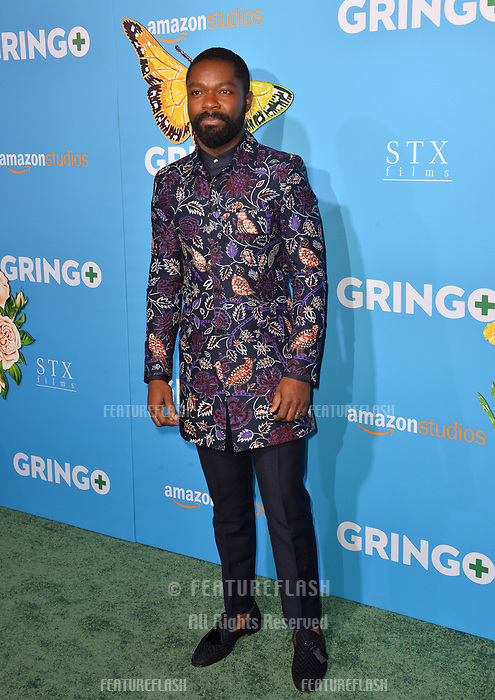 David Oyelowo at the world premiere for &quot;Gringo&quot; at the L.A. Live Regal Cinemas, Los Angeles, USA 06 March 2018<br /> Picture: Paul Smith/Featureflash/SilverHub 0208 004 5359 sales@silverhubmedia.com