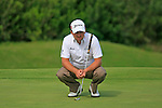 Graeme McDowell (N.IRL) waits to putt on the 18th green during the afternoon session on Day 2 of the Volvo World Match Play Championship in Finca Cortesin, Casares, Spain, 20th May 2011. (Photo Eoin Clarke/Golffile 2011)