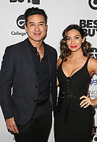 LOS ANGELES, CA - NOVEMBER 8: Mario Lopez and Courtney Lopez at the Eva Longoria Foundation Dinner Gala honoring Zoe Saldana and Gina Rodriguez at The Four Seasons Beverly Hills in Los Angeles, California on November 8, 2018. Credit: Faye Sadou/MediaPunch