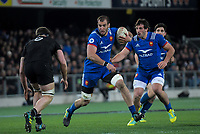 France's Yoann Maestri in action during the Steinlager Series international rugby match between the New Zealand All Blacks and France at Forsyth Barr Stadium in Wellington, New Zealand on Saturday, 23 June 2018. Photo: Dave Lintott / lintottphoto.co.nz