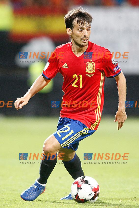 Spain's David Silva during FIFA World Cup 2018 Qualifying Round match. September 5,2016.(ALTERPHOTOS/Acero)<br /> Spagna - Liechtenstein <br /> Foto Insidefoto <br /> ITALY ONLY