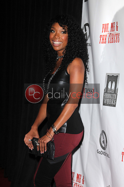 """Brandy Norwood<br /> at the """"You, Me & The Circus"""" Premiere, Supperclub, Hollywood, CA 08-28-12<br /> David Edwards/DailyCeleb.com 818-249-4998"""