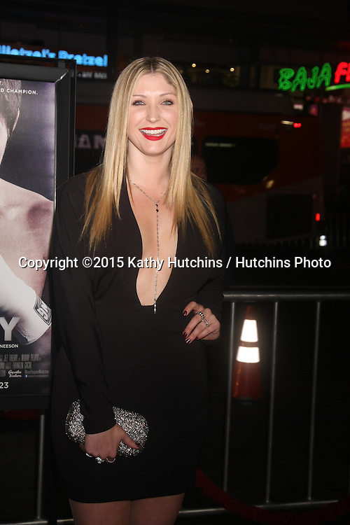 """LOS ANGELES - JAN 20:  Taylor-Ann Hasselhoff at the """"Manny"""" Los Angeles Premiere at a TCL Chinese Theater on January 20, 2015 in Los Angeles, CA"""
