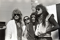 Y&amp;T  portrait photographed at &quot;Day on the Green&quot; in San Francisco, California. August 31,1985 &copy; Gene Ambo / MediaPunch *** HIGHER RATES APPLY:  MUST CALL TO NEGOTIATE ******  *** <br /> CAP/MPI/GA<br /> &copy;GA/MPI/Capital Pictures