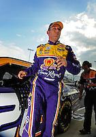 May 1, 2009; Richmond, VA, USA; NASCAR Sprint Cup Series driver Jamie McMurray during qualifying for the Russ Friedman 400 at the Richmond International Raceway. Mandatory Credit: Mark J. Rebilas-