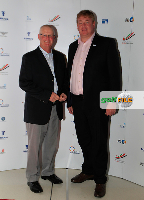 Sandy Lyle during the 2015 Abu Dhabi Invitational Gala Evening held at The Viceroy Hotel, Yas Island, Abu Dhabi.: Picture Eoin Clarke, www.golffile.ie: 1/25/2015
