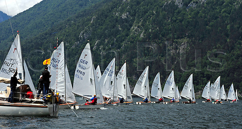 03 06 2011   Alliance BMW Sailing Competiton week.  Ebensee Austria 03 Jun 11 Picture shows the Field at the Start  of the race