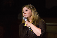 13th July 2019: Comedian Lucy Porter performs her show 'Be Prepared' on day 1 of the 2019 Comedy Crate Festival in Northampton