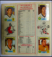 BNPS.co.uk (01202 558833)<br /> Pic: BerkshireAuctionRooms/BNPS<br /> <br /> Semi finalist's Germany included 'Der Kaiser' Franz Beckenbauer, and 'Der Bomber' Gerd Muller..<br /> <br /> A schoolboy's precious pennies have turned into &pound;1200 as a complete Panini sticker album from the legendary 1970 World Cup has emerged for auction.<br /> <br /> Not only did Mexico 70 give rise to some of the most famous World Cup moments of all time, it also launched the Panini brothers as a global brand and led to frantic playground swapping up and down Britain.<br /> <br /> The tournament held 47 years ago is often cited as the greatest World Cup. With 'the most beautiful goal of all time', Gordon Bank's save, Gerd Muller up front for Germany and Bobby Moore v Pele the tournament had everything.<br /> <br /> The complete album is being sold by Berkshire Auction Rooms on Saturday.