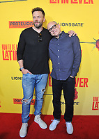 www.acepixs.com<br /> <br /> April 26 2017, LA<br /> <br /> Joel McHale (L) and Rob Corddry arriving at the premiere of 'How To Be A Latin Lover' at the ArcLight Cinemas Cinerama Dome on April 26, 2017 in Hollywood, California. <br /> <br /> By Line: Peter West/ACE Pictures<br /> <br /> <br /> ACE Pictures Inc<br /> Tel: 6467670430<br /> Email: info@acepixs.com<br /> www.acepixs.com