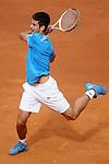 Serbia's Novak Djokovic during his Madrid Open Semi final match.May 16 2009.(ALTERPHOTOS/Acero).