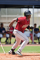 Telvin Nash of the Gulf Coast League Astros during the game in Viera, Florida. The GCL Astros are the Rookie League affiliate of the Houston Astros. Photo By Scott Jontes/Four Seam Images