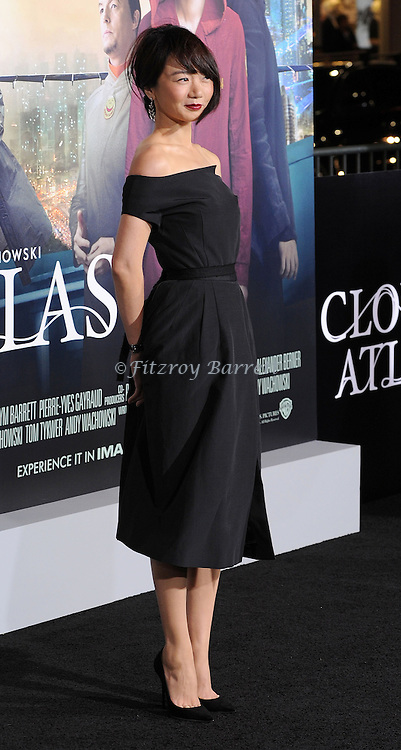 "Donna Bae at the Los Angeles Premiere of ""Cloud Atlas"" held at Grauman's  Chinese Theater October 24, 2012."