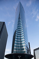 EDF tower, La Defense, Paris, France (Pei Cobb Freed = architect)