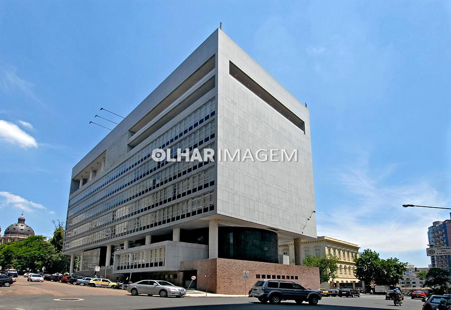 Palácio da Justiça, cidade de Porto Alegre. Rio Grande do Sul. 2008. Foto de Juca Martins.