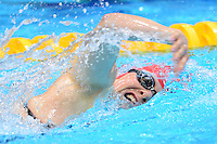 PICTURE BY ALEX BROADWAY /SWPIX.COM - 2012 London Paralympic Games - Day Five - Swimming, Aquatic Centre, Olympic Park, London, England - 03/09/12 - Susannah Rodgers of Great Britain competes in the Women's 100m Freestyle S7 Heats.