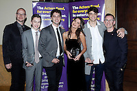 LOS ANGELES - DEC 3: Peter Paige, Hayden Byerly, David Lambert, Maia Mitchell, Noah Centineo, Bradley Bredeweg at The Actors Fund's Looking Ahead Awards at the Taglyan Complex on December 3, 2015 in Los Angeles, California