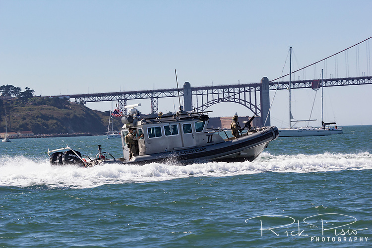 USCG MSRT patrols the waters of San Francisco Bay