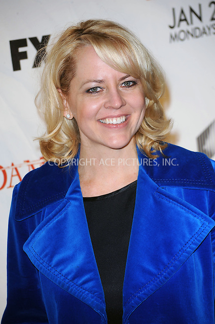 WWW.ACEPIXS.COM . . . . . ....January 19 2010, New York City....Actress Emily Conner arriving at the Season 3 premiere of 'Damages' at the AXA Equitable Center on January 19, 2010 in New York City.....Please byline: KRISTIN CALLAHAN - ACEPIXS.COM.. . . . . . ..Ace Pictures, Inc:  ..tel: (212) 243 8787 or (646) 769 0430..e-mail: info@acepixs.com..web: http://www.acepixs.com