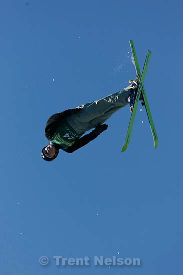 Olga Koroleva, RUS, Ladies' Aerials Final, 2006 Freestyle FIS World Cup at Deer Valley.&amp;#xA;<br />