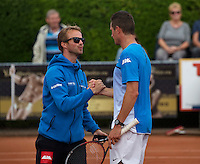 Simpeled, Netherlands, 19 June, 2016, Tennis, Playoffs Eredivisie Men, Steffan Fransen Team Nieuwekerk<br /> Photo: Henk Koster/tennisimages.com