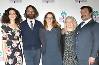 "PALM SPRINGS - JAN 3:  Jenny Slate, Wally Wolodarsky, Maya Forbes, Jacki Weaver, Jack Black at the PSIFF ""The Polka King"" Screening at Camelot Theater on January 3, 2018 in Palm Springs, CA"