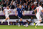 Osako Yuya of Japan (C) in action during the AFC Asian Cup UAE 2019 Semi Finals match between I.R. Iran (IRN) and Japan (JPN) at Hazza Bin Zayed Stadium  on 28 January 2019 in Al Alin, United Arab Emirates. Photo by Marcio Rodrigo Machado / Power Sport Images