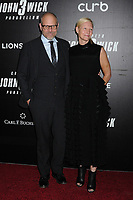"Alton Brown and guest at the World Premiere of ""John Wick: Chapter 3 Parabellum"", held at One Hanson in Brooklyn, New York, USA, 09 May 2019<br /> CAP/ADM/LJ<br /> ©LJ/ADM/Capital Pictures"