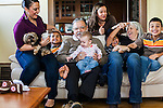 Richard and Alice Leon Family Portraits