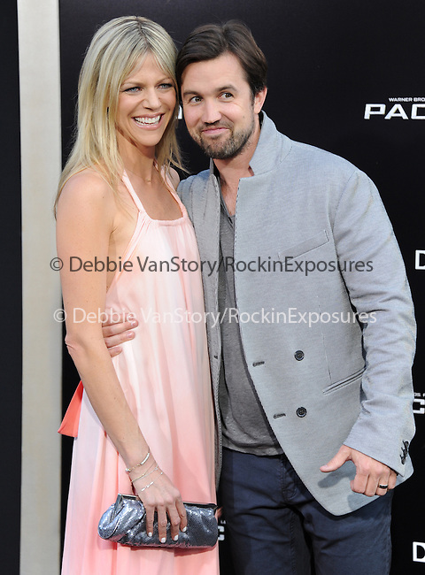 Kaitlin Olson and Rob McElhenney<br />  at The Warner Bros. Pictures L.A. Premiere of Pacific Premiere held at The Dolby Theater in Hollywood, California on July 09,2013                                                                   Copyright 2013 Hollywood Press Agency