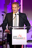 Alexander Armstrong speaks at the Child Bereavement 25th birthday gala dinner at Kensington Palace in London. HRH is a patron of Child Bereavement UK. The charity works to help families to rebuild their lives after the devastation of child bereavement. Photo Credit: ALPR/AdMedia