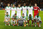 23.10.2014 Milan, Italy. Inter Milan vs ASSE Saint Etienne.<br /> ASSE team poses during the UEFA Europa League game played at the Stadio Guiseppe Meazza.