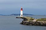 Leuchturm (Lighthouse), Einfahrt Canal du Midi, Les Onglous, Marseillan, Frankreich, France