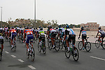 at the start of the 1st Stage of the 2012 Tour of Qatar running from Umm Slal Mohammed to Doha Golf Club, Doha, Qatar, 5th February 2012 (Photo Eoin Clarke/Newsfile)