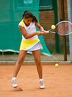 August 4, 2014, Netherlands, Dordrecht, TC Dash 35, Tennis, National Junior Championships, NJK,  <br /> Photo: Tennisimages/Henk Koster