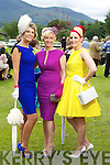 Pictured at Killarney Races Ladies Day on Thursday, from left: Siobhan Carey, Elaine Kelliher and Joanne Murphy