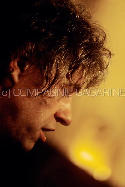 Bob Geldof at the IFPI Europe Platinum Awards in Brussels, Belgium, 10/07/2002