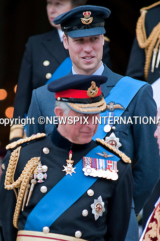 """PRINCES CHARLES AND WILLIAM.attended the Service of Commemoration to mark the end of combat operations in Iraq in St Paul's Catherdral, London_09/10/2009.Mandatory Photo Credit: ©Dias/Newspix International..**ALL FEES PAYABLE TO: """"NEWSPIX INTERNATIONAL""""**..PHOTO CREDIT MANDATORY!!: NEWSPIX INTERNATIONAL(Failure to credit will incur a surcharge of 100% of reproduction fees)..IMMEDIATE CONFIRMATION OF USAGE REQUIRED:.Newspix International, 31 Chinnery Hill, Bishop's Stortford, ENGLAND CM23 3PS.Tel:+441279 324672  ; Fax: +441279656877.Mobile:  0777568 1153.e-mail: info@newspixinternational.co.uk"""