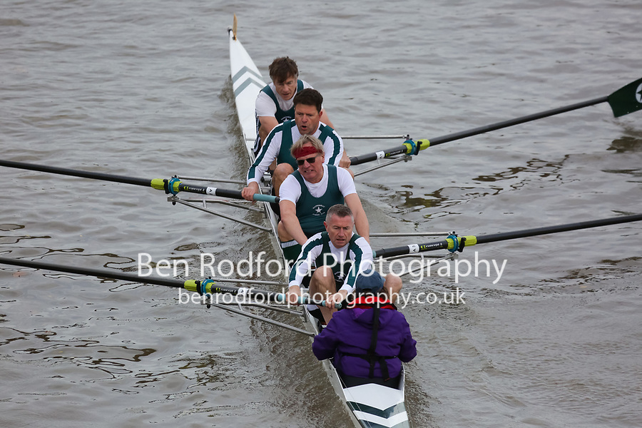 Crew: 184  Maidenhead  F 4+<br /> <br /> Veteran Fours Head 2018<br /> <br /> To purchase this photo, or to see pricing information for Prints and Downloads, click the blue 'Add to Cart' button at the top-right of the page.